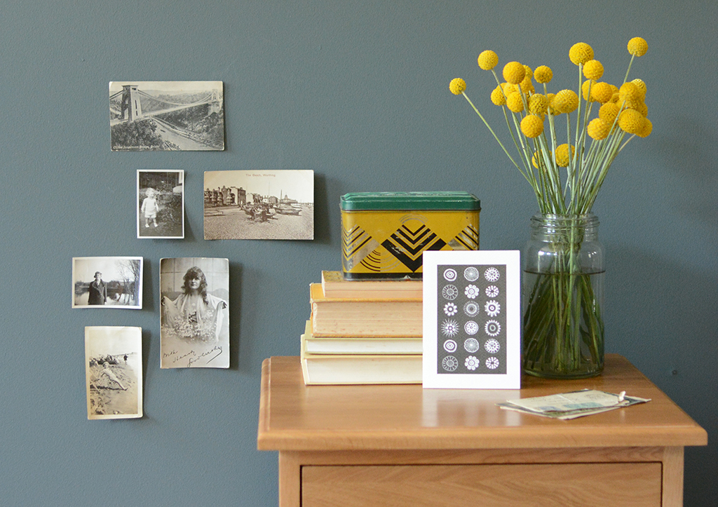 curate your space postcards and pictures
