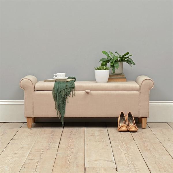 guest-bedroom-light-oak-stone-linen-ottoman