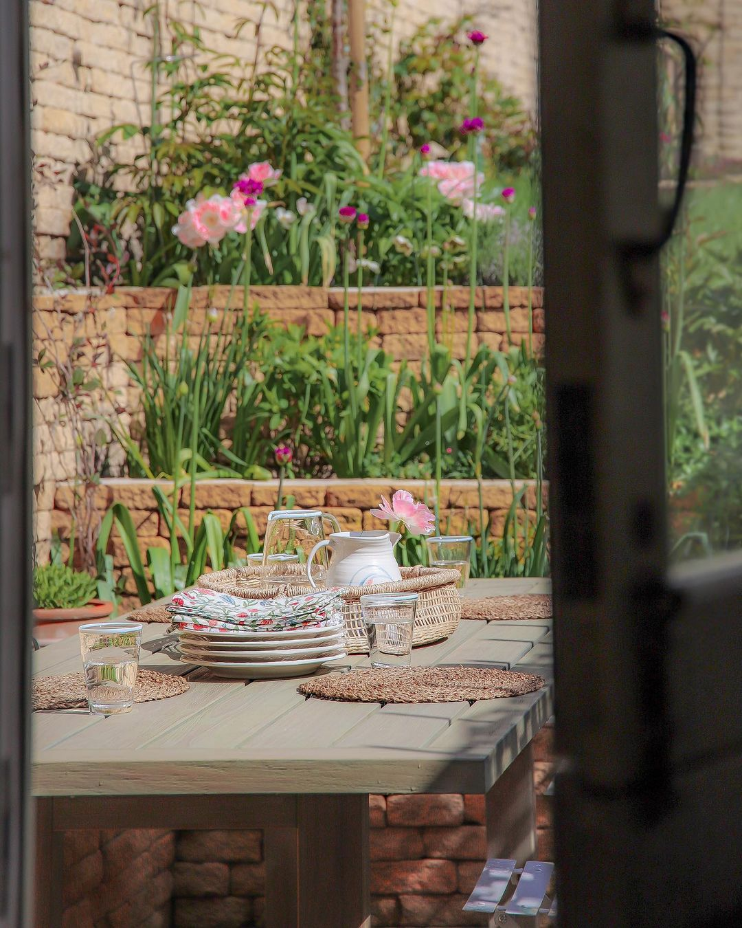 A beautifully restored cottage garden space