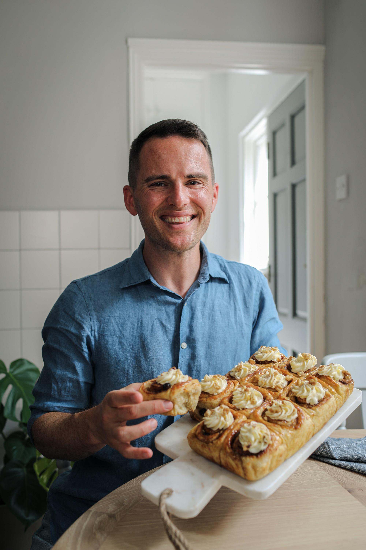 David Atherton shares his Cinnamon Rolls recipe
