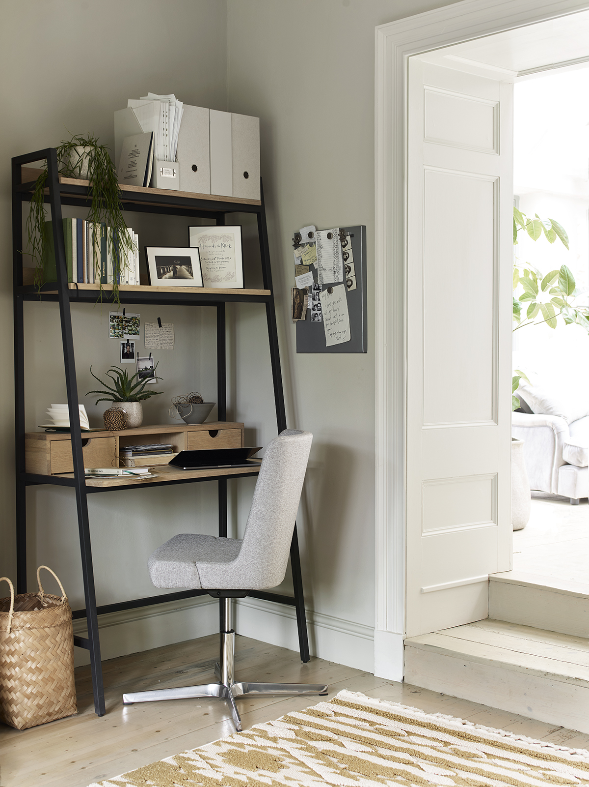 Our Moreton desk is bursting with storage space