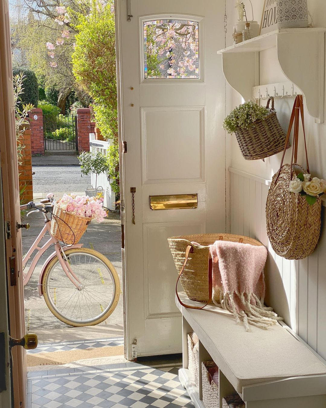 The hallway is the gateway into our homes