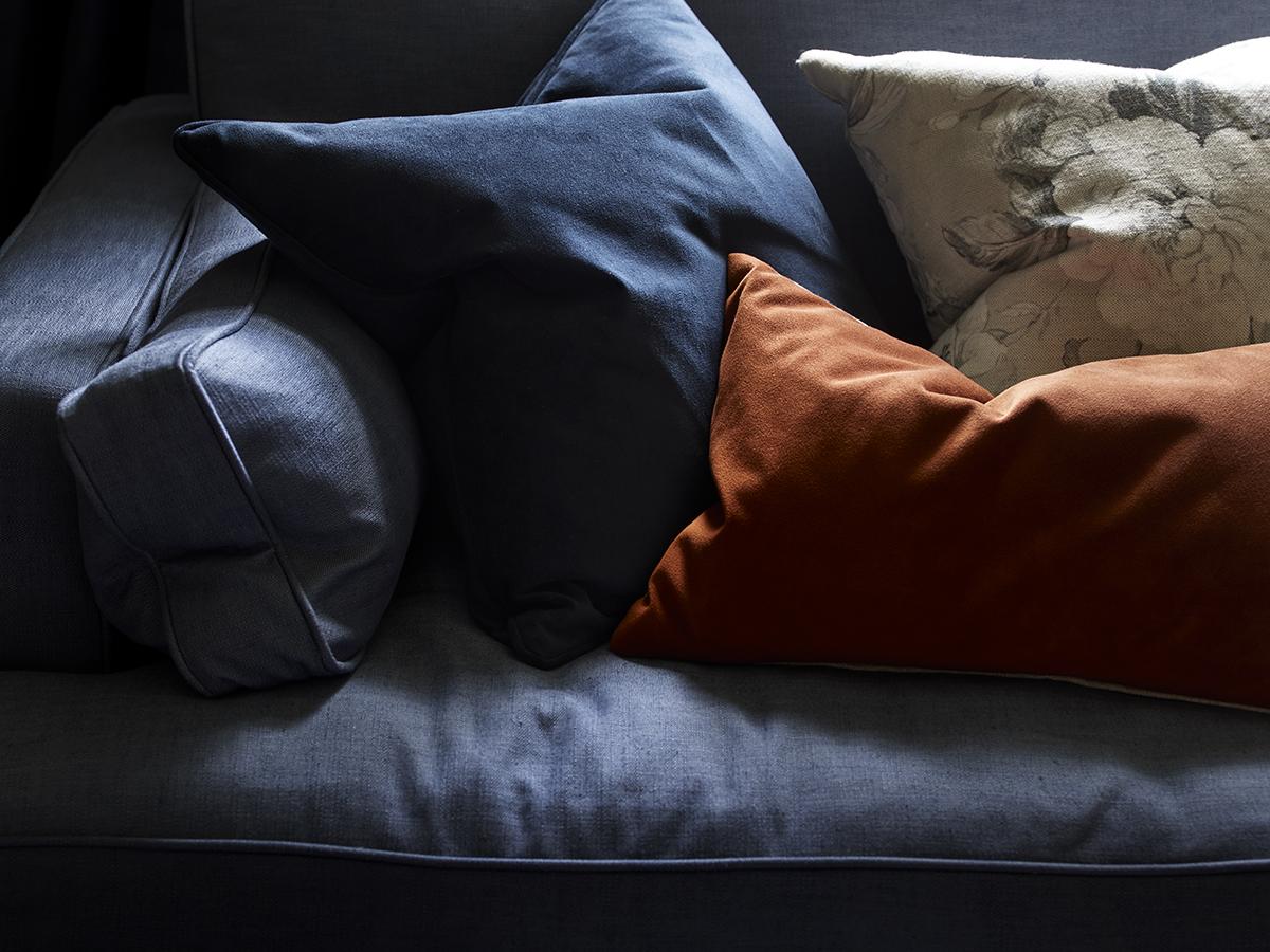 Our new range of velvet cushions