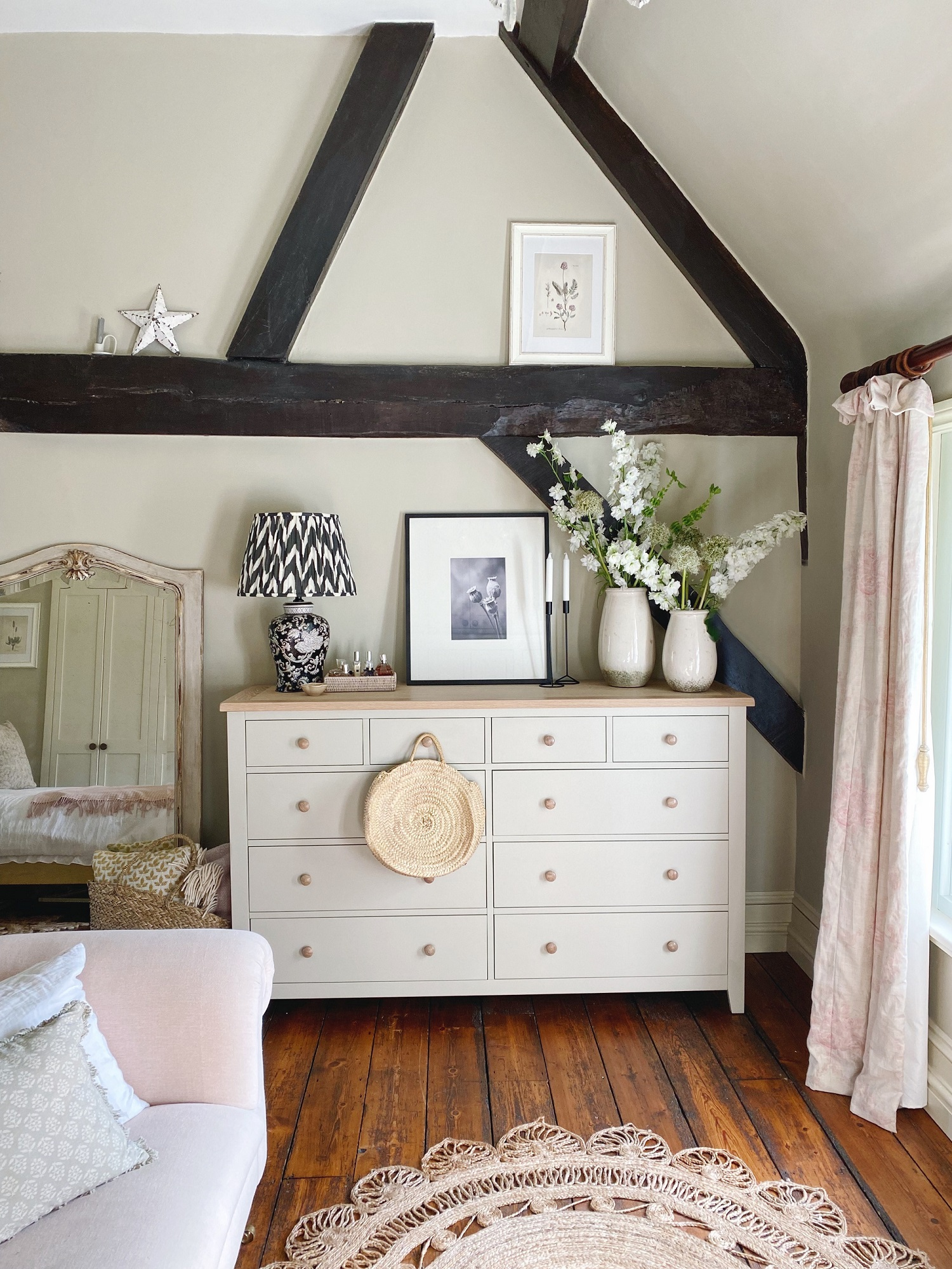 Chester stone bedroom chest storage