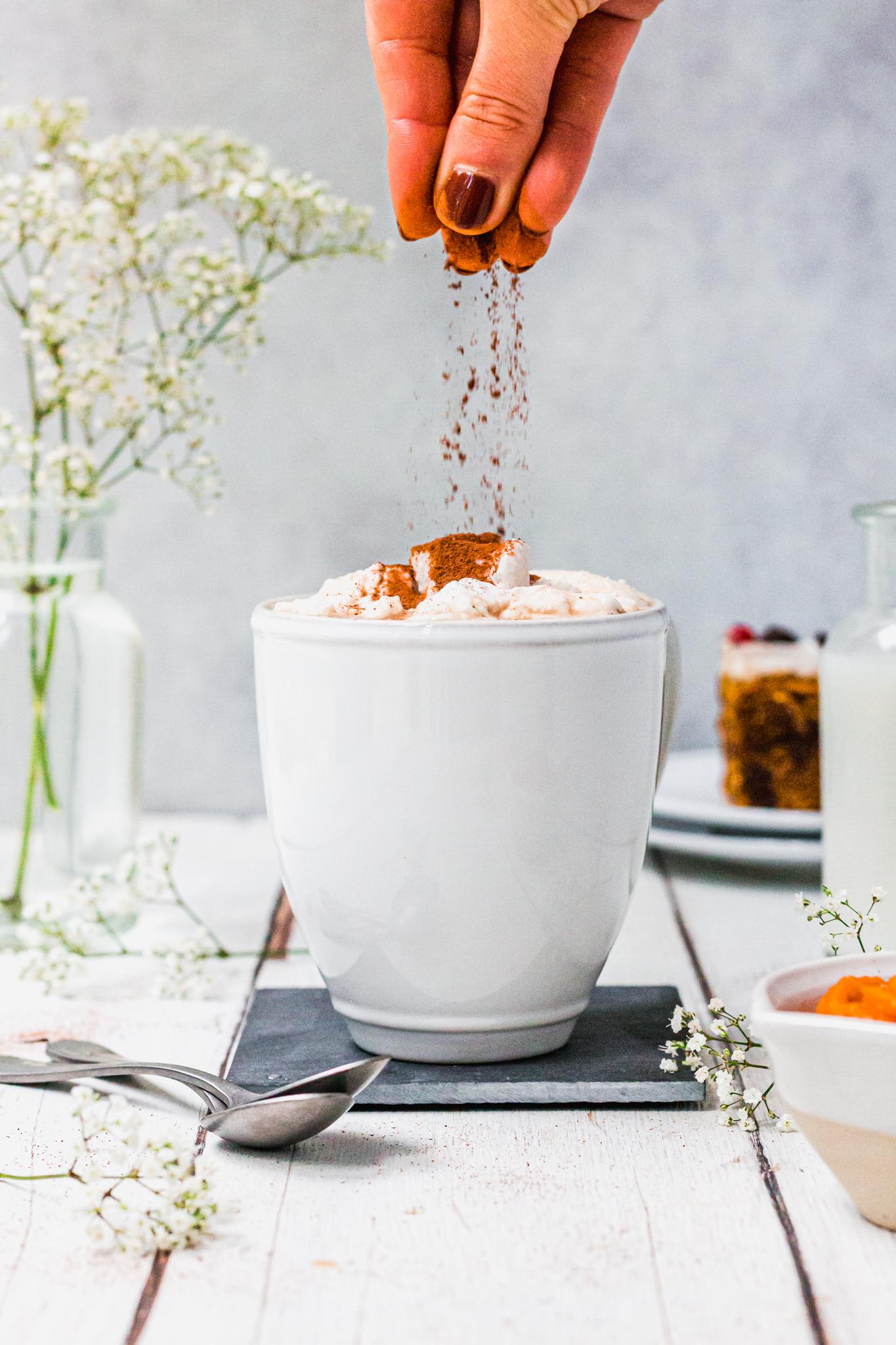 Pumpkin-spiced latte Bybrook mug