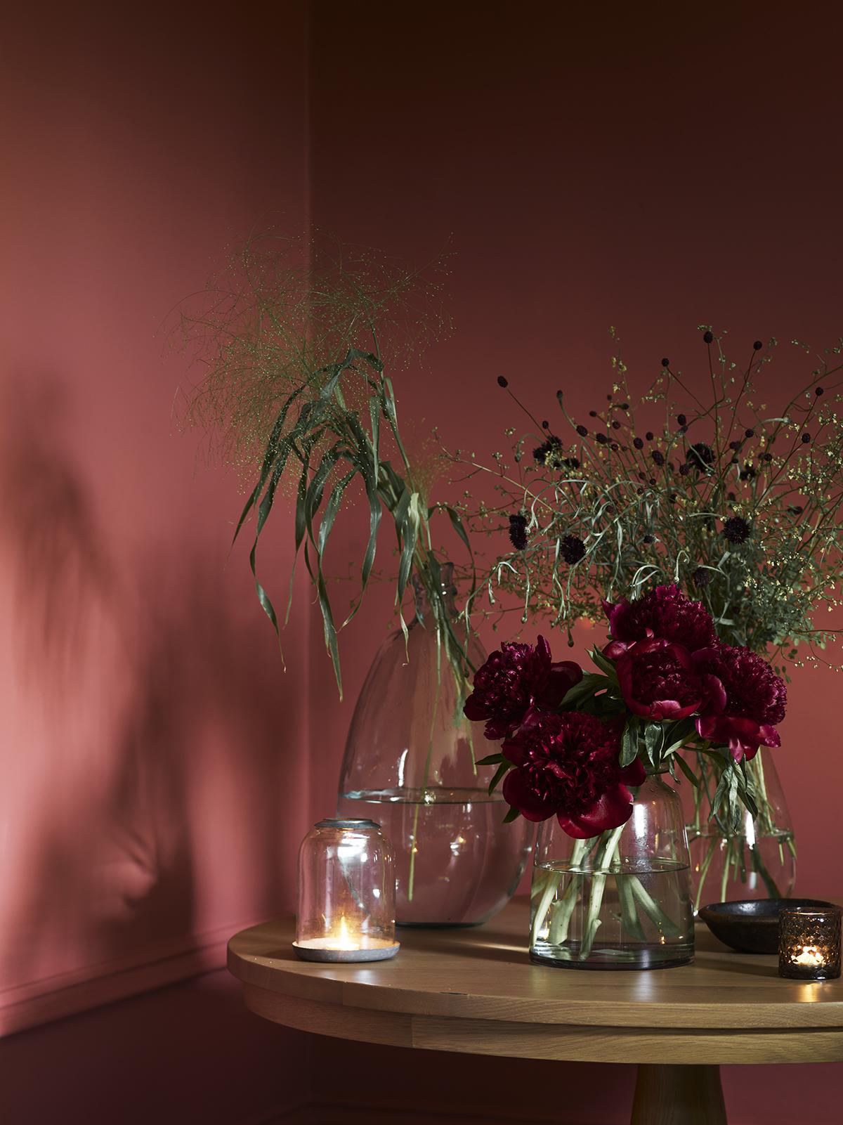 Vases for foraged foliage